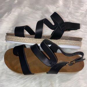 Kalissa Espadrille platform sandals